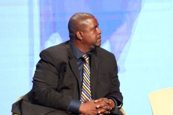 Premier and Minister of Finance, Honourable Andrew A. Fahie (R1) has said he too backs the rest of the region in its attempt at seeking reparations from Britain. Photo: VINO/File