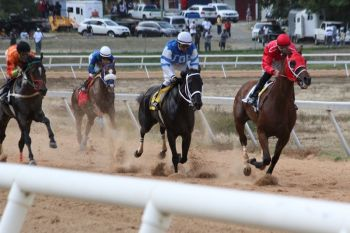 In just a matter of hours the race that many horse racing fans have been asking for will materialise at Ellis Thomas Downs in Sea Cows Bay as around 4:30pm three of the top horses on Tortola, Virgin Islands will clash to determine who is the best of the best. Photo: VINO/File