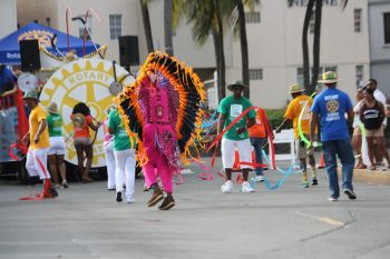 Rotary Club of Tortola was adjudged the winner of the Float Competition. Photo: VINO