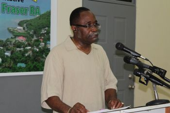 Third District Representative, Honourable Julian Fraser, RA has said the public is getting uncomfortable with Government's dodging and refusing to answer questions on the controversial Cruise Pier Project. Photo: VINO