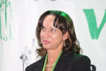 She was speaking as part of the women's rally held at the Sir Olva Georges Plaza in Road Town on Sunday May 31, 2015 which coincided with the launch of the party's manifesto. Photo: VINO