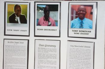 Some of the horse racing personalities highlighted by the Sugar Works Museum. Photo: VINO