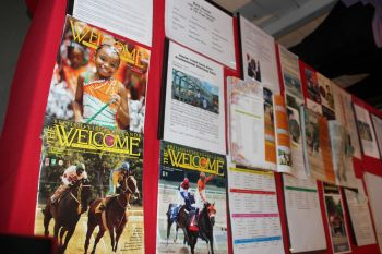 Locals and schools are being encouraged to learn more about the history of horse racing in the Virgin Islands by visiting the Sugar Works Museum. Photo: VINO