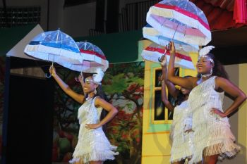 A dance routine from the 2014 Miss BVI Pageant. Photo: VINO