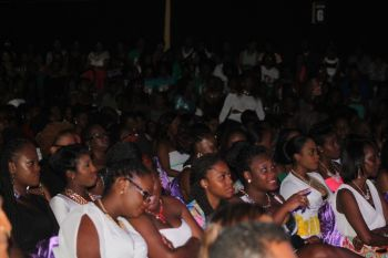 A section of the audience at the 2014 Miss BVI Pageant. Photo: VINO