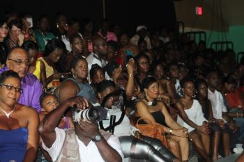 Scene from the 2014 Miss BVI Pageant. Photo: VINO