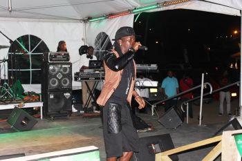 Following a performance of a number of tunes from both the dancehall reggae and soca genres, Mr Killa got to the most anticipated part of the show – his performance of Rolly Polly. Photo: VINO