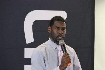 Franchise holder, Mr Damion Grange, thanked LIME for partnering with the committee and promised that the VI would not be disappointed as Malone carries the flag of the Virgin Islands high in Indonesia. Photo: VINO