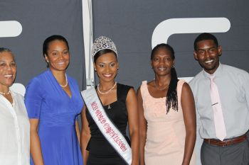 Scene from the ceremony held at LIME BVI's flagship store on July 24, 2013. Photo: VINO