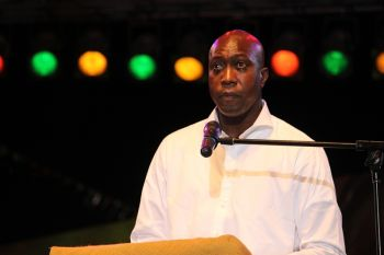 Hon.Walwyn urged that residents use the Emancipation Festival season of recollection to recommit themselves to living a life that slave ancestors will be proud of. Photo: VINO