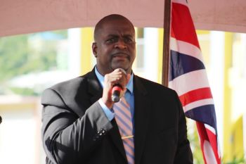 Premier Andrew A. Fahie (R1), in a leaked letter to Baroness Elizabeth G. Sugg, CBE, the Minister for Sustainable Development and the Overseas Territories, in September 2020, said Governor Augustus J. U. Jaspert had proceeded to present a paper in a National Security Council meeting 'which exaggerated the needs of the VI to paint a fabricated, inaccurate and misleading picture of the state of affairs and capabilities of the Territory to justify UK interventions, including military involvement, beyond the scope of what was requested by the Territorial Government.' Photo: VINO/File