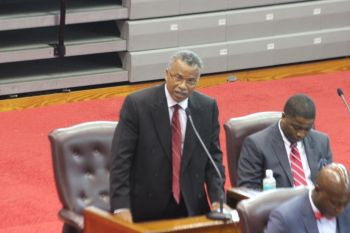 Dr O'Neal was speaking yesterday March 22, 2016 during the budget debates in the  House of Assembly, where he spoke on a number of issues affecting his District. Photo: VINO/File