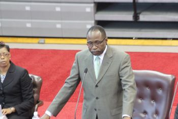Hon Fraser made the comment while speaking at the First Sitting of the First Session of the Third House of Assembly yesterday June 23, 2015 and held at the Multipurpose Sports Complex. Photo: VINO