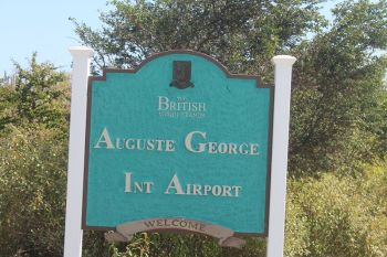 The Auguste George Airport is being referred to not as an International Airport but rather a free port because of the failure of the Customs Officer to show up for duty for years. Photo: VINO