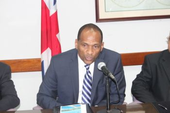 Minister for Communications and Works Hon. Mark H. Vanterpool said that in addition to bringing cruise passengers to the Territory, DCL promised their assistance, with their expertise, to helping with hospitality training and marketing the Virgin Islands, throughout the world. Photo: VINO