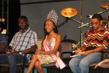 Among those present were Natalio D. Wheatley aka Sowande Uhuru, first Miss Jr BVI Tichina Penn and Arliene T. Penn. Photo: VINO