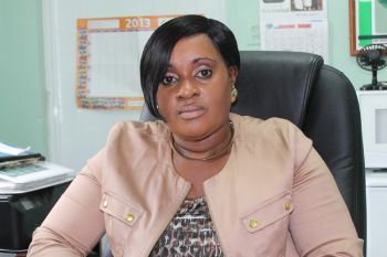 Despite the fact that the school had six students in the top ten in 2012, Principal Ms Claudette A. Llandover said that the overall performance this year was better. Photo: VINO