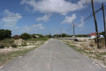 The Settlement in Anegada. Residents there a frustrated with the shortage of water on the island. Photo: VINO/File