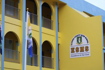 Schools in the Virgin Islands have adopted a hybrid learning system, where some subjects are taught online. Photo: VINO/File