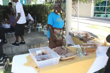 The Fifth Annual Mango Array and Tropical Fruit Festival at the Noel Lloyd Positive Action Movement Park held today July 18, 2014. Photo: VINO
