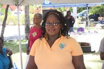 Ms. Isha I. Hodge, Agricultural Officer 1 with the Department of Agriculture said that the event is a celebration of the tropical fruits that are in the Virgin Islands. Photo: VINO