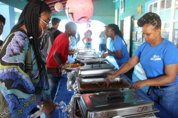 Scenes from Anegada Lobster Festival 2019 at Big Bamboo Restaurant. Photo: VINO