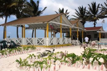 Cow Wreck Bar and Grill on Anegada where the former United States First Couple had lunch today, January 31, 2017. Photo: VINO/File