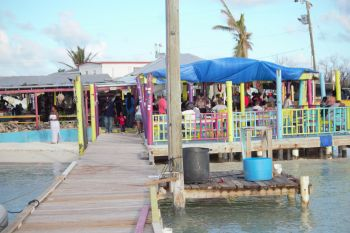 Potters by the Sea was one of the participating restaurants of the 5th Annual Anegada Lobster Festival. Photo: VINO