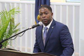 Second District Representative and Opposition Member, Honourable Melvin M. Turnbull has said he would resist any attempts at renaming the newly rebuilt Enis Adams Primary School (EAPS). Photo: VINO