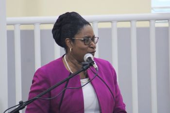 Acting Chief Education Officer (CEO) Connie E. George has rubbished speculations that there was ever talk about renaming the Enis Adams Primary School. Photo: VINO