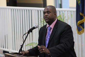 Premier and Minister of Finance Honourable Andrew A. Fahie (R1) has said he wants to make sure every single person in the territory is working. Photo: VINO/File