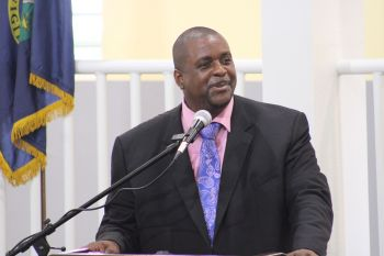 According to commentator Mr Claude O. Skelton-Cline, it was teamwork and the personality of Premier and Minister of Finance Hon Andrew A. Fahie (R1), in photo, that helped secure victory for the Virgin Islands Party (VIP) at the February 25, 2019 General Elections. Photo: VINO/File