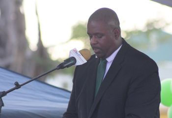 Opposition Leader Hon Andrew A. Fahie (R1) had requested that Premier and Minister of Finance Dr The Honourable D. Orlando Smith (AL) produce by 2:00 P.M. on March 15, 2018 every correspondence between the Virgin Islands (VI) and the United Kingdom (UK) Governments on the Territory's recovery plan since November 2017 to clear up any misunderstanding; however, Dr Smith failed to meet this request. Photo: VINO/File