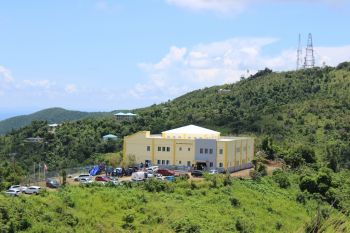 The newly built Enis Adams Primary School in Meyers Estate, viewed from Sky World Food Theatre. Photo: VINO