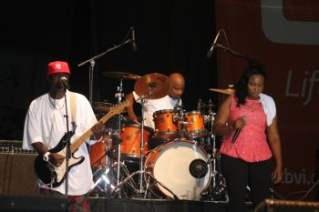 Xtreme Band Reunion at Carrot Bay's Cultural Fiesta, August 8, 2014. Photo: VINO