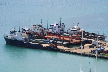 The BVI Ports Authority is preparing to conduct a feasibility study on flexible work hours, which will extend the operating hours at Port Purcell to increase the efficiency of loading and offloading cargo. Photo: VINO/File