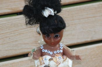 A closer look at the intricate work done on the Miss BVI doll. Photo: VINO