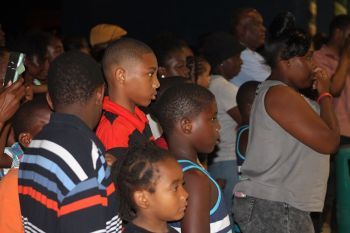 Hon Walwyn has come under fire from members of the public for his loud onslaught of the media and critics of the construction of the Jeffrey Caines Sports Arena while in the presence of many youth of Virgin Gorda. The National Democratic Party (NDP) is already under fire for allegedly cultivating a culture of disrespect and Hon Walwyn's recent rants in front of many children will do little to counter that image. Photo: VINO