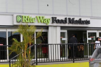 RiteWay Food Markets in Pasea Estate is one of the leading supermarkets in the Virgin Islands. Photo: VINO