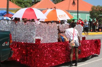 Befitting the Diamond Jubilee of Festival, yesterday's August 4, 2014 parade was nothing short of spectacular as a kaleidoscope of colours was on display to mark 60 years of Festival celebrations paying homage to the struggles of the forefathers. Photo: VINO