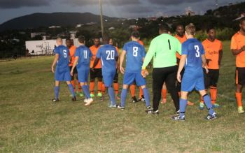 The Sugar Boys proved just too fast and clinical for Wolues who were never allowed to get into their game. Photo: BVI Football Association