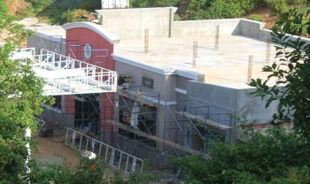 Petrus Plaza BVI is being constructed to be hurricane resistant. Photo: VINO