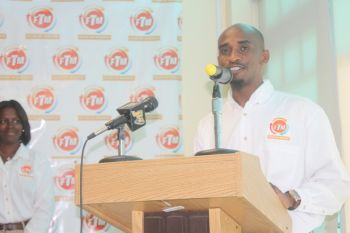 FTM's Craig A. Lake aka DJ Push Pop said that he felt that it was prudent for him to specially recognize and honour all those who played a role in programme which has no doubt impacted more than 300 young men of the VI. Photo: VINO
