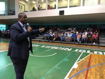 The 'unconventional' Virgin Islands Party (VIP) Government led by Premier and Minister of Finance, Honourable Andrew A. Fahie (R1) has been criticised by some but praised by many for their courage in tackling pressing but controversial issues that have persisted for years due to fear, personal political interests or lack of political will. Photo: GIS/File