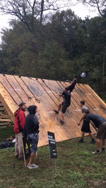 Taking on the challenging course of the Spartan Challenge. Photo: Provided