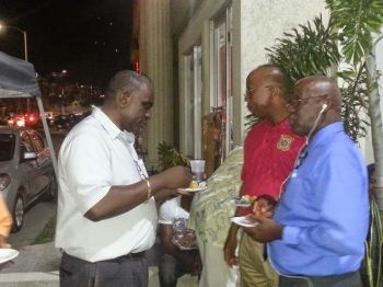 Some prominent persons of the VI community. Photo: VINO