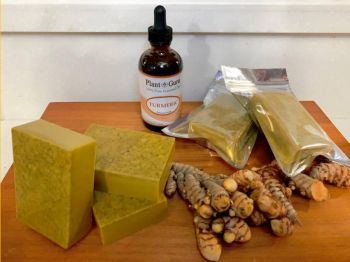 Products from the Aloe Carez brand of natural skincare products. Photo: Provided