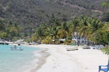 Daniel A. George of Jost Van Dyke told Virgin Islands News Online that he applied for a trade licence for his snack bar business, which is located at the Great Harbour beach in Jost Van Dyke, but continues to face delays in having his application processed after complaints were made by local residents against having his bar at the beach location. Photo: VINO/File