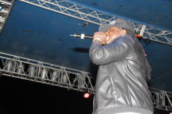Jamaican artist Jah Vinci performs at Andrew A. 'Charlie' Turnbull Festiville. Photo: VINO