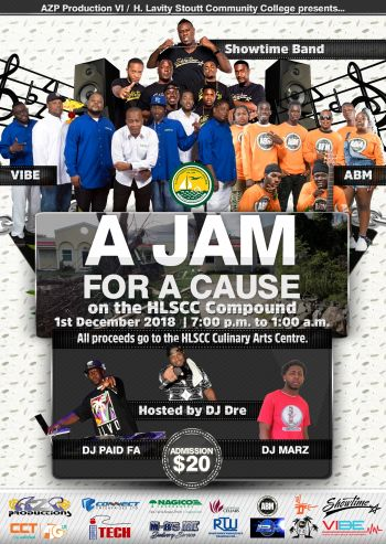 'A Jam for a Cause' will kickoff from 7:00 pm on Saturday, December 1st. Photo: Provided